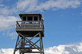 Wooden Observation Tower At Beach Royalty Free Stock Photography - 35537997