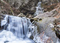 Frozen Buttermilk Falls Royalty Free Stock Images - 35557919