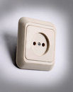 White Power Outlet Royalty Free Stock Images - 35566089