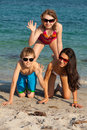 Teenagers At The Beach Stock Images - 35578874