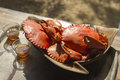 Crabs For Lunch Royalty Free Stock Images - 35580869