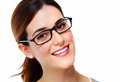 Woman With Eyeglasses. Stock Photos - 35581133
