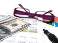 Chart With Money Stock Photo - 35588010
