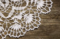 Lace On Wood Royalty Free Stock Image - 35595436
