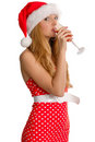 Sexy Mrs Santa Claus Royalty Free Stock Photo - 3562185