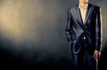Man In Suit Stock Image - 35600761