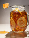 Ice Tea Lemon Honey Royalty Free Stock Photography - 35604267