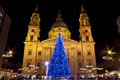 Basilica Square At Christmastime Stock Photo - 35605270