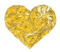 Gold Heart Stock Image - 35606171