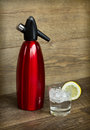 Soda Siphon And Soda Glass Stock Images - 35622314