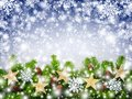 Christmas Snowflakes Background Stock Photos - 35624153
