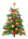 Joyfully Colorful Christmas Tree Stock Images - 35624184