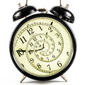 Hypnotic Clock Stock Photography - 35630112