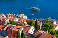Aerial View From Rovinj Belfry, Croatia Royalty Free Stock Images - 35668799