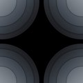 Abstract Dark Grey Paper Circles Background Royalty Free Stock Photos - 35674178