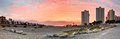 Panoramic View On Eilat City And Aqaba Gulf At Daw Stock Image - 35689961