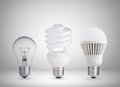 Different Light Bulbs Royalty Free Stock Images - 35700479