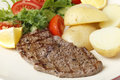 Minute Steak Meal Stock Image - 35701561