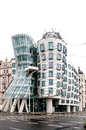 Building Called Dancing House In Prague Royalty Free Stock Photo - 35706685