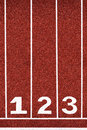 Running Track With Number 1-3, Abstract, Texture, Background. Royalty Free Stock Photography - 35714557