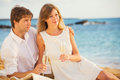 Honeymoon Concept, Man And Woman In Love Royalty Free Stock Image - 35723566