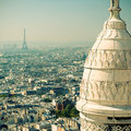 View Of Paris From The Sacre Coeur Stock Photography - 35725272