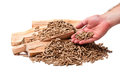 Wood Pellet Stock Images - 35726554