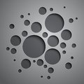 Abstract Background With Black And Grey Circles Royalty Free Stock Images - 35727549