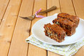 Homemade Healthy Cake With Dried Fruits Royalty Free Stock Image - 35732856