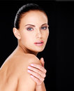 Beautiful   Face Of The Adult Woman With Fresh Skin Stock Photography - 35738002