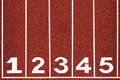 Running Track With Number 1-5, Abstract, Texture, Background. Royalty Free Stock Images - 35741629