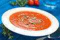 Tomato Soup Royalty Free Stock Photography - 35742697