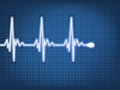 Abstract Heart Beats Cardiogram. EPS 10 Royalty Free Stock Image - 35744616