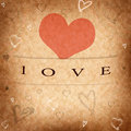 Vintage Valentine S Day Cards Royalty Free Stock Photography - 35755707