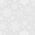 Christmas Seamless Pattern From Snowflakes Stock Photo - 35770320