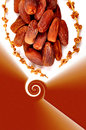 Sweet Dates With Packing Design Royalty Free Stock Image - 35770466