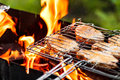 Meat Fried On The Grill Stock Image - 35779601