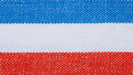 Closeup Of Blue Red White Striped Textile As Background Or Texture Royalty Free Stock Photos - 35799778