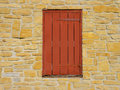 Shuttered Old Window Stock Image - 3582981