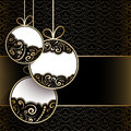 Gold Christmas Background Royalty Free Stock Photography - 35836247