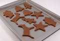 Festive Shaped Gingerbread Cookies Ready For The Oven Stock Photography - 35844312
