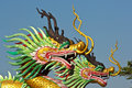 Twin Dragon Royalty Free Stock Image - 35854176