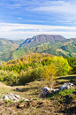 Viewpoint On A Landscape Of Mount Bobija, Peaks, Hills, Rocks, Meadows And Colorful Forests Stock Photography - 35862792