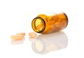 Tablets In A Bottle Royalty Free Stock Images - 35867629