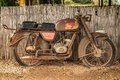 Rusty Motorcycle Stock Photos - 35882403