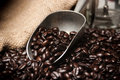 Scoop Of Coffee Beans Royalty Free Stock Photos - 35884808