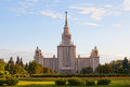 Moscow State University Royalty Free Stock Photography - 35886117