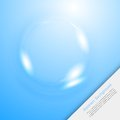 Vector Blue Water Circle 2 12.09.13 Royalty Free Stock Photo - 35890105