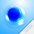 Vector Blue Water Circle 2 12.09.13 Stock Images - 35890454