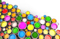 Paint Buckets Royalty Free Stock Images - 35891519